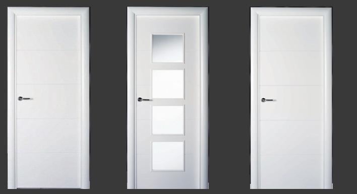 Puertas lacadas en blanco puertas y armarios benidorm - Puertas lacadas en blanco ...