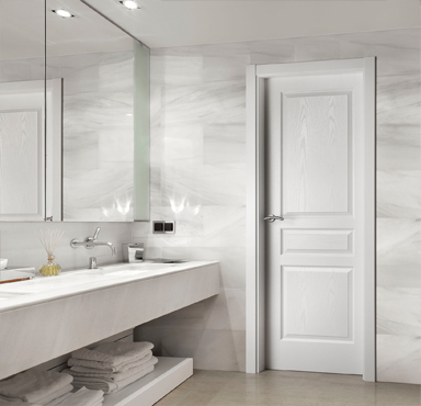 Puertas interior blancas interesting puerta de interior for Puertas correderas blancas interior
