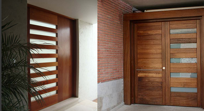 Puertas madera calle armarios ventanas precios genuardis for Puertas macizas exterior