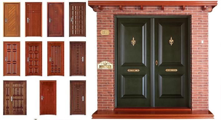Puertas de madera fabrica de puertas blindadas catalogo for Fabrica de puertas de madera