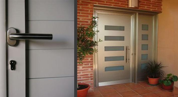 Puertas de aluminio puertas y armarios benidorm empresa for Puertas en aluminio modernas