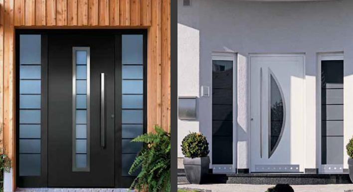 Puertas de aluminio puertas y armarios benidorm empresa - Puertas de aluminio para entrada principal ...