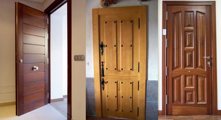 Puertas macizas puertas y armarios benidorm empresa for Puertas macizas exterior